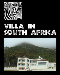 Villa for Holiday Rental in South Africa